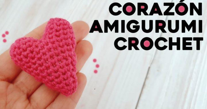 CÓMO TEJER CORAZÓN AMIGURUMI A CROCHET: ideal para llaveros, tutorial paso a paso | Ahuyama Crochet