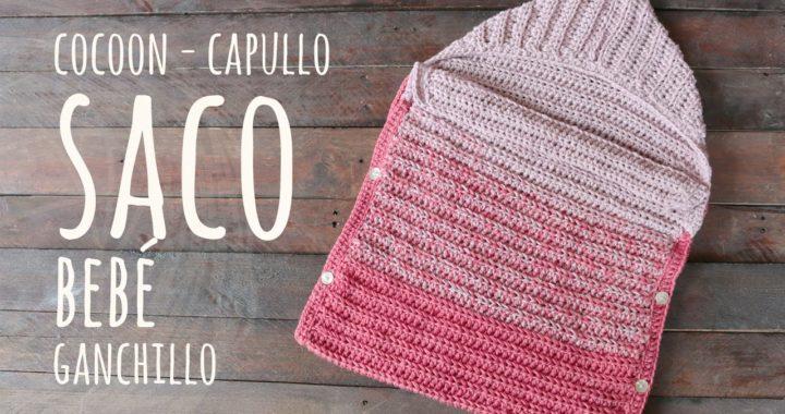 CÓMO TEJER UN SACO PARA BEBÉ FÁCIL Y RÁPIDO | Ganchillo - Crochet | LAnas y Ovillos