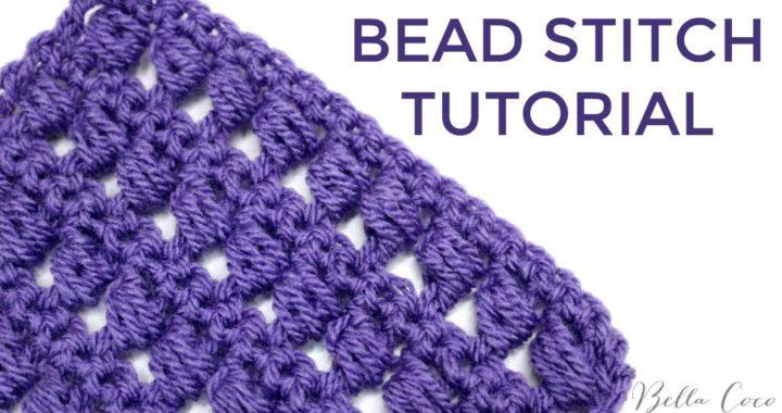 CROCHET: BEAD STITCH | Bella Coco Crochet