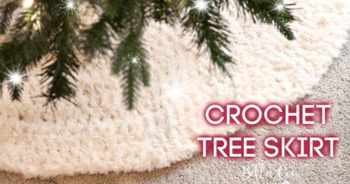 CROCHET: CHRISTMAS TREE SKIRT | Bella Coco Crochet