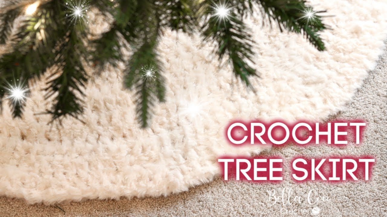 CROCHET: CHRISTMAS TREE SKIRT   Bella Coco Crochet