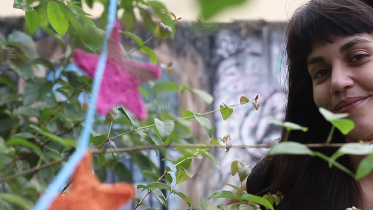CROCHET - Guirnalda de ESTRELLAS Multicolores FÁCIL PARA PRINCIPIANTES - Tutorial Tramar