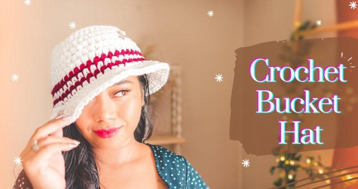 CROCHET: HOW TO CROCHET BUCKET HATS TUTORIAL | BEGINNERS FRIENDLY #yommycrochetlogy #buckethats