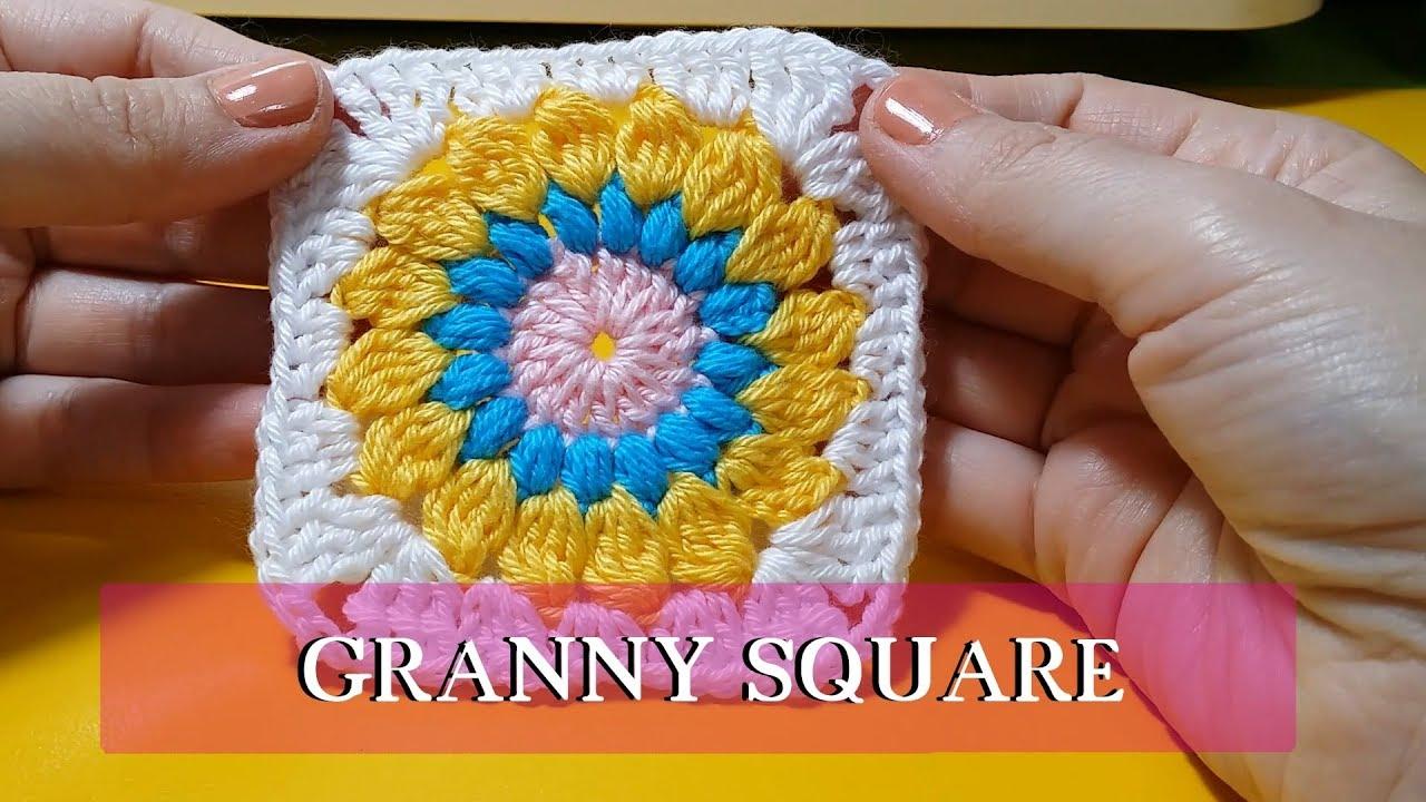 CROCHET: Tutorial Granny Square