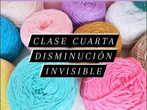 CURSO BASICO DE  AMIGURUMIS - CROCHET CLASE 4