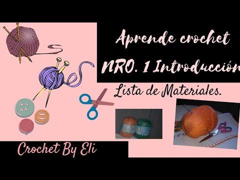 CURSO GRATIS DE CROCHET | materiales.
