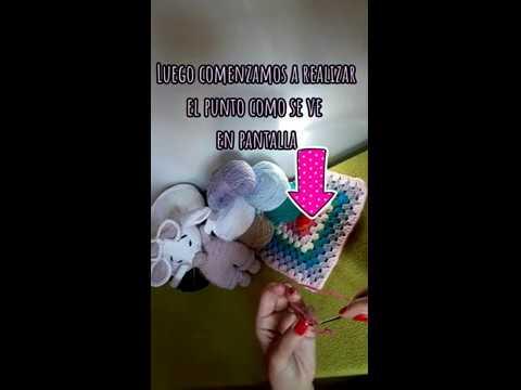 Cadena- punto crochet- amigurumi