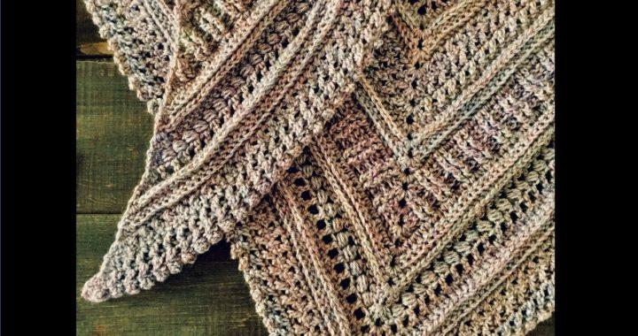 Chal a crochet ¡Muy fácil y paso a paso!