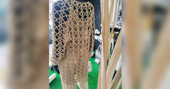 Chaqueta Boho Frida Calada a Crochet