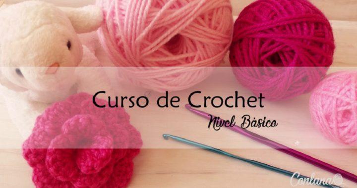 Clase 2: MEDIO PUNTO ALTO (Segunda Parte) I Curso Gratis de Crochet - Nivel Básico.