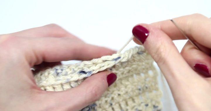 Cómo coser piezas en crochet | WE ARE KNITTERS