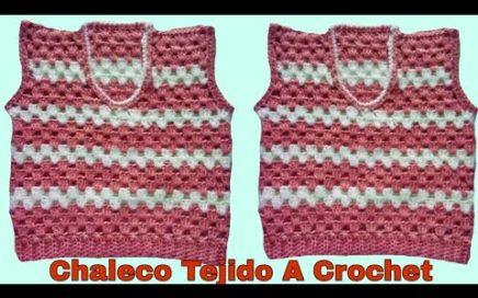 Cómo tejer chalecos a crochet paso a paso