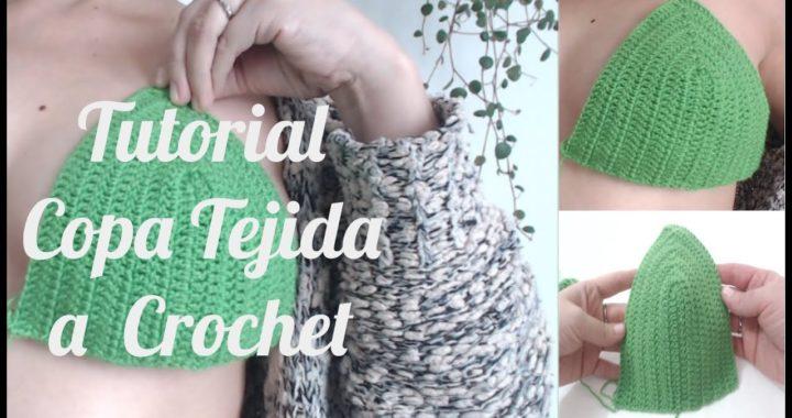 Como tejer copas a crochet, Tutorial fácil y rápido