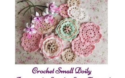 Crochet Doily: Beginner's Step by Step Tutorial