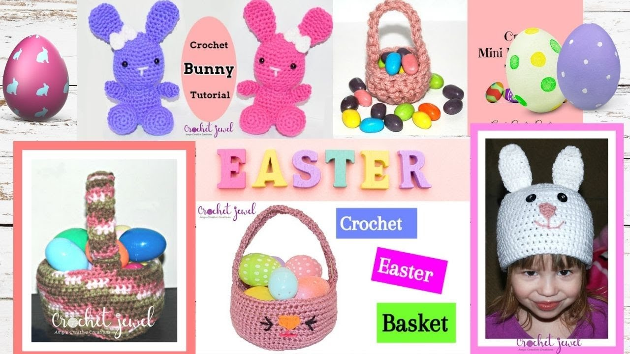 Crochet Easter Patterns and Tutorials