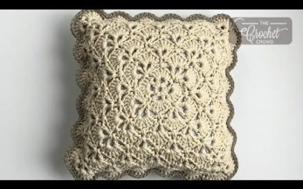 Crochet From the Middle Pillow