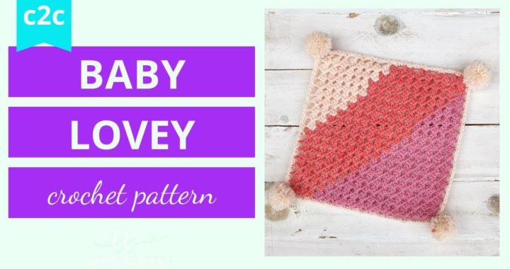 Crochet Granny Square Blanket (c2c) Tutorial (beginner)
