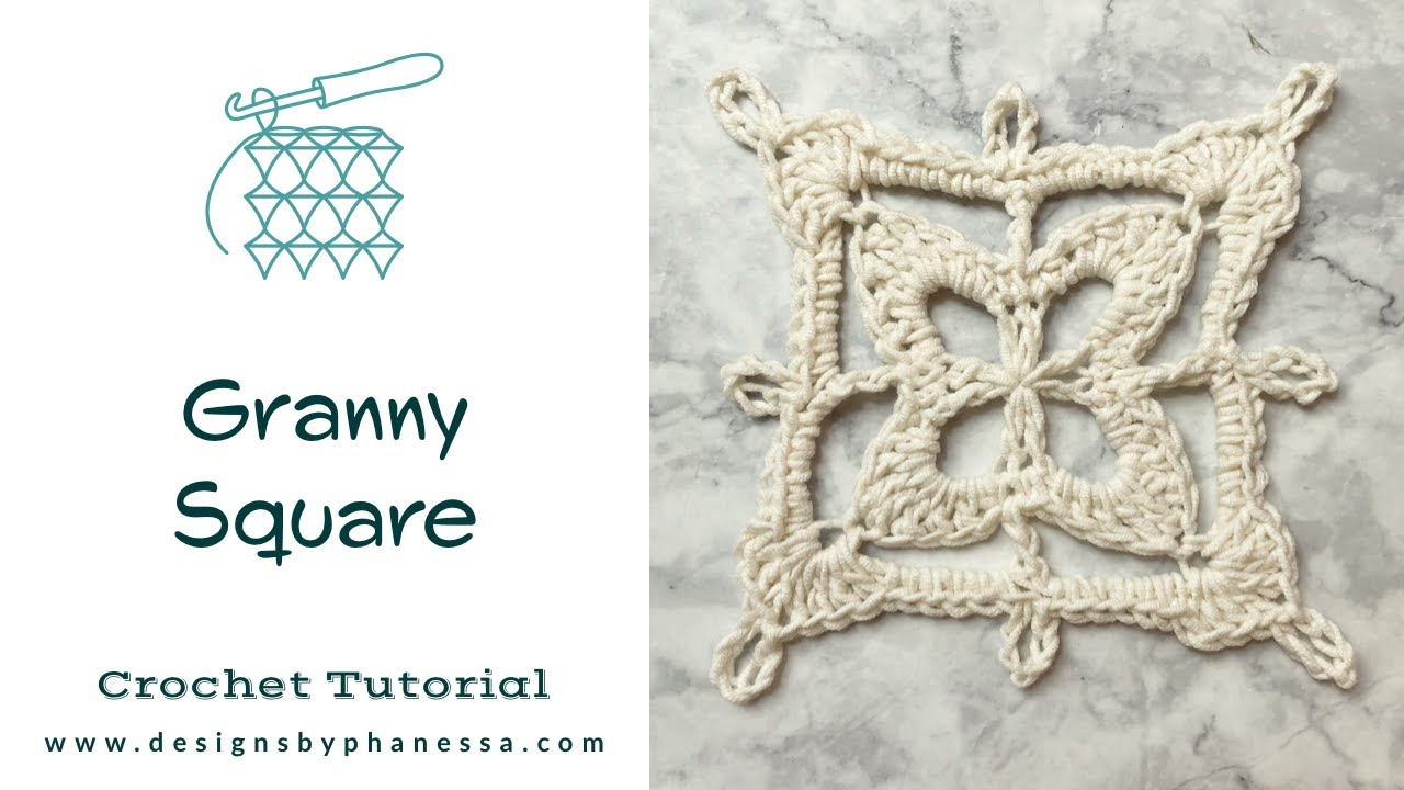 Crochet Granny Square Pattern & Tutorial