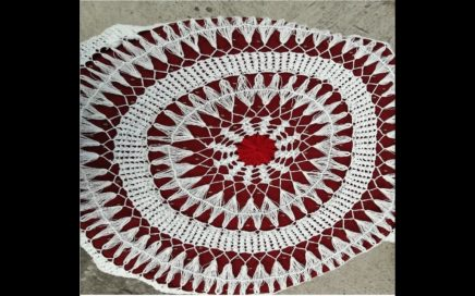 Crochet Round Table Cloth-02