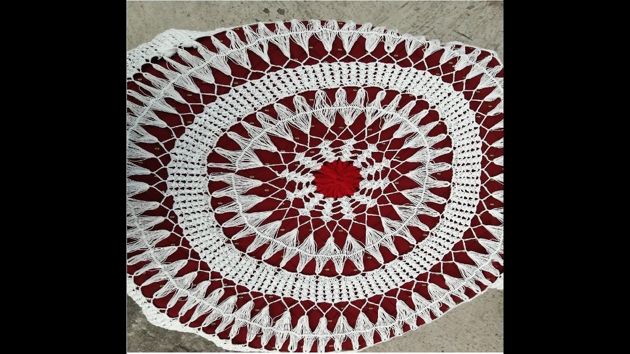Crochet Round Table Cloth-02