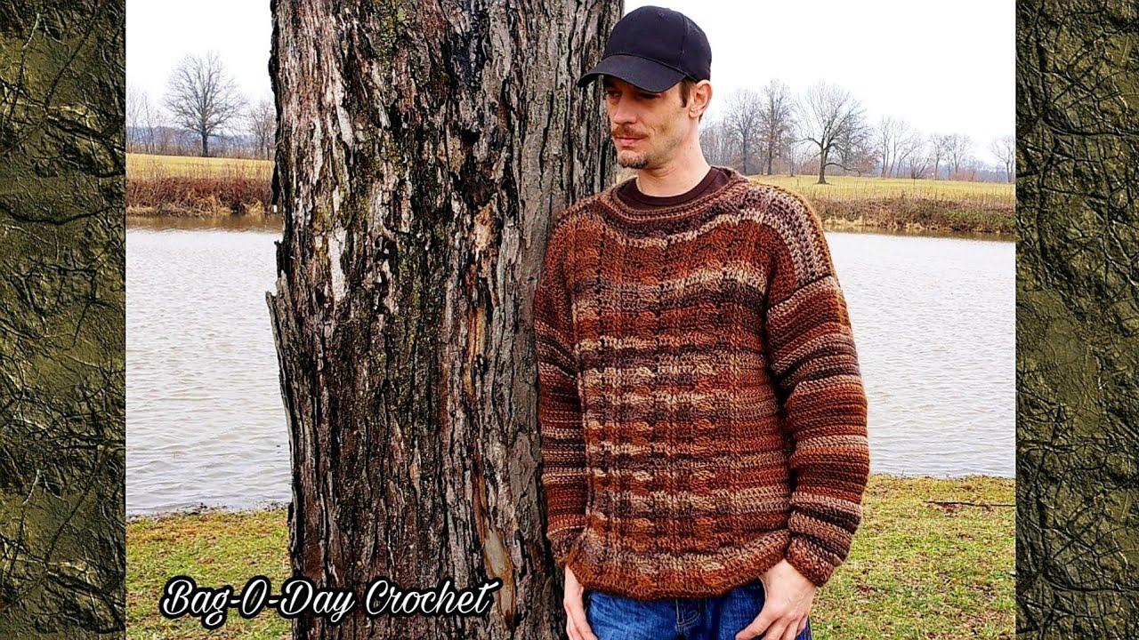 Crochet Sweater | Easy Crochet Cable Pullover  | Bag O Day Crochet Tutorial 560