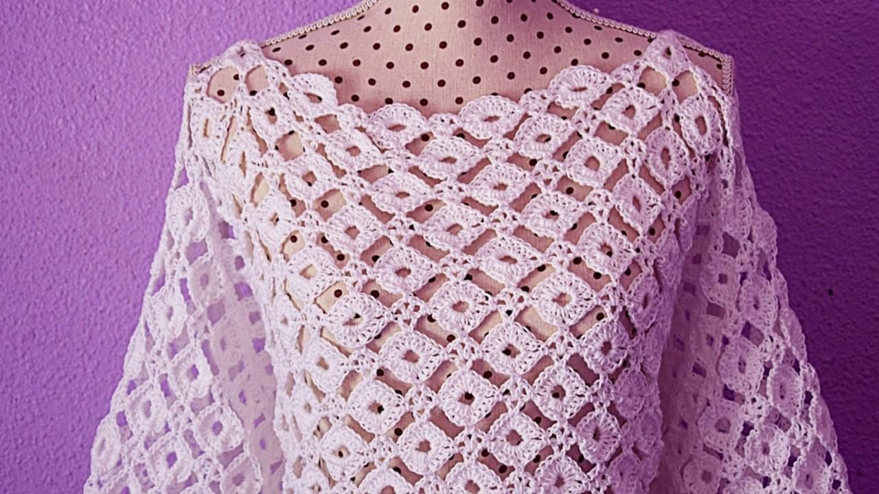 Crochet blouse with sleeves summers #crochet #majovelcrochet
