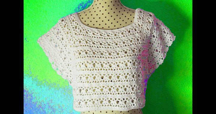 Crochet woman yoke @Majovel crochet english