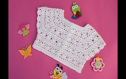 Crochet yoke very nice @Majovel crochet english