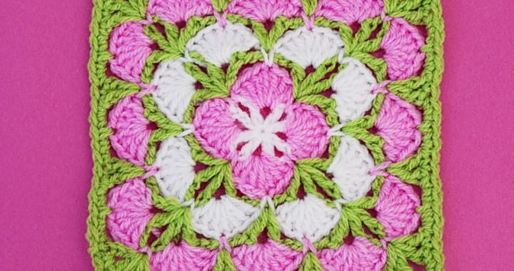 Cuadro para mantas y cobijas muy facil @Majovel crochet english
