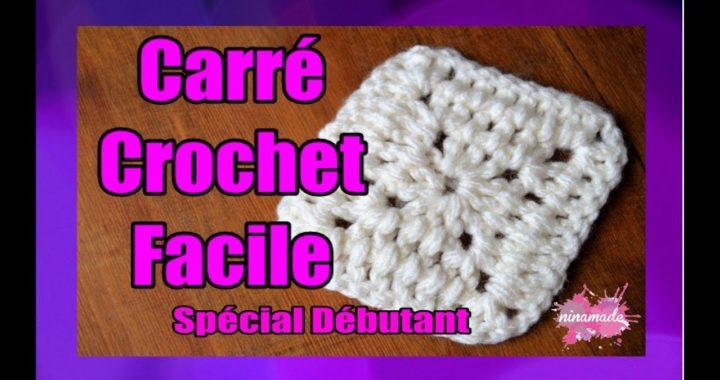 DIY. Carré Au Crochet Très Facile // Granny Square Very Easy