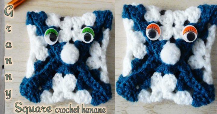 DIY: how to crochet  granny square an envelope   ظرف بالمربع جراني كروشيه (أفكار كروشيه)