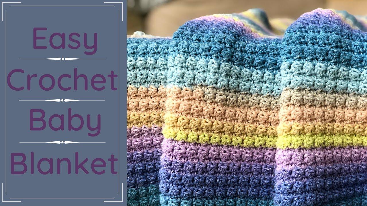 EASY Baby Blanket For Absolute Beginners The Essentials Baby Blanket - Sleep Baby