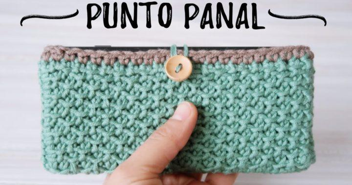 ESTUCHE EN PUNTO PANAL | Crochet TUNECINO | Ahuyama Crochet
