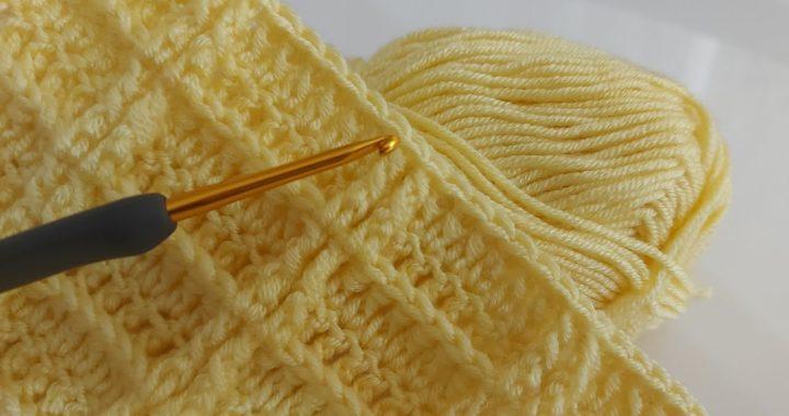 Easy crochet baby blanket pattern for beginners ~ crochet blanket knitting patterns