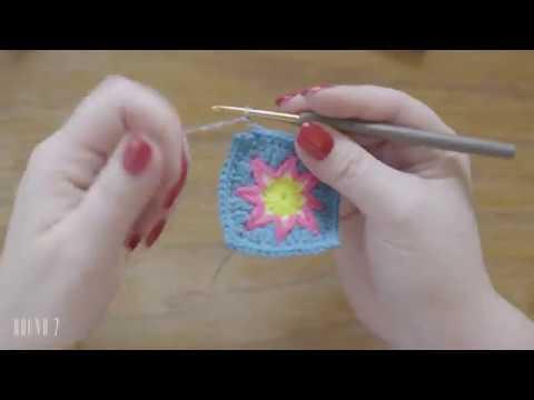 FIESTA CAL part 3 - Mosaic Crochet Tutorial
