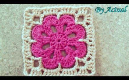 Flor de Crochê Primorosa ♡ - ByActual