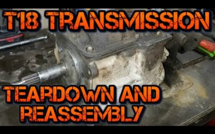 Ford T18 Manual Transmission Rebuild