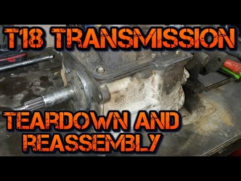Ford T18 Manual Transmission Rebuild