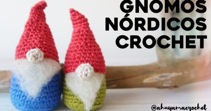 GNOMO o DUENDE NÓRDICO a crochet | NAVIDAD Ahuyama Crochet