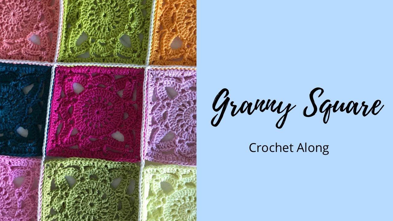 Granny Square Crochet Along