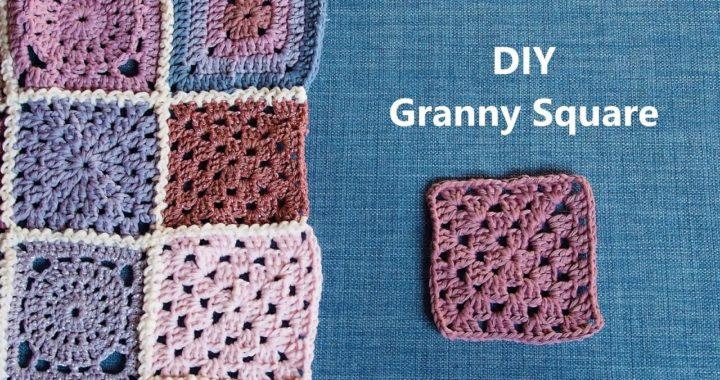 Granny Square | Häkelmuster für Anfänger | 2
