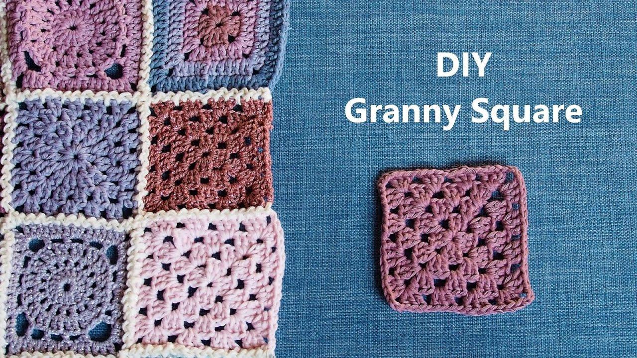 Granny Square   Häkelmuster für Anfänger   2