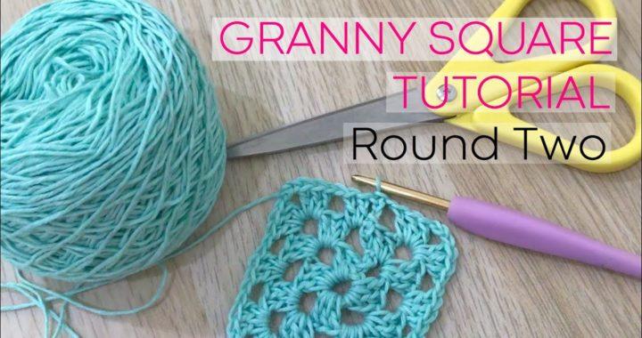 Granny Square Round Two | Crochet Tutorial