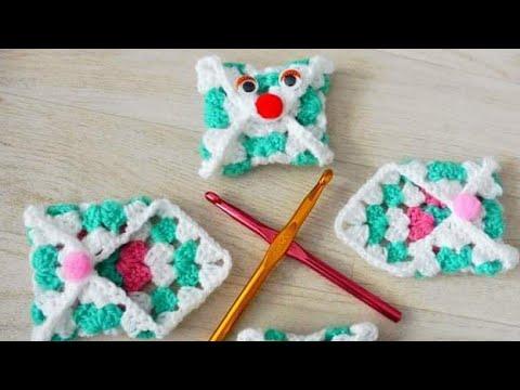 Granny square crochet envelope pattern & Tutorial | ظرف بالمربع كروشيه | افكار كروشيه جديده