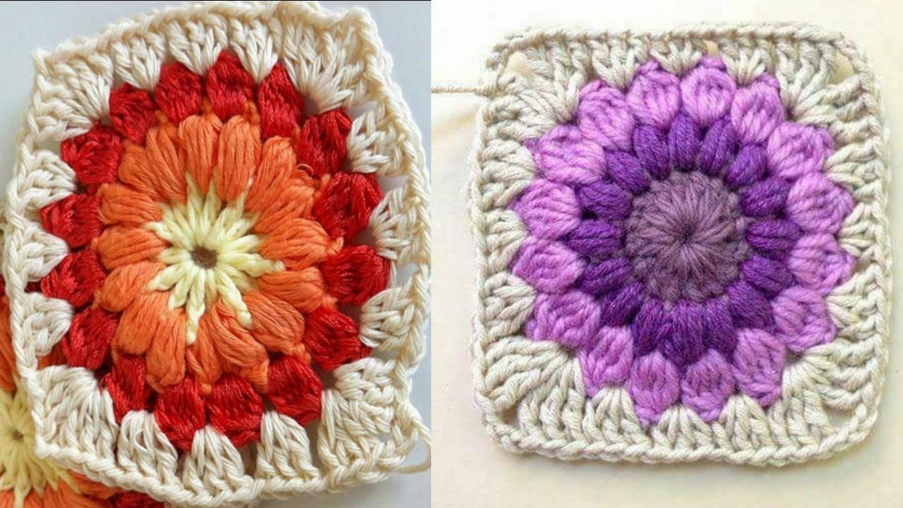 Grannys o Square a crochet