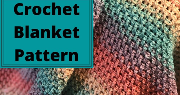 How To Crochet A Blanket For Absolute Beginners The Rainbow Blanket