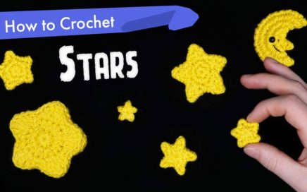 How to Crochet Stars in Different Shapes and Sizes || Amigurumi Pattern Tutorial