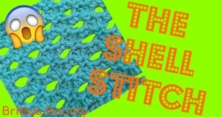 How to Crochet a Shell Stitch | Britta's Bounty