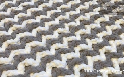 Interlocking Crochet for Beginners - Zig Zag