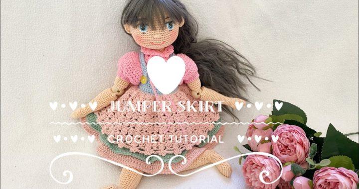 Jumper skirt crochet tutorial 🧶